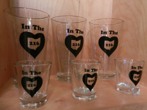 In The 216 Pint Glasses