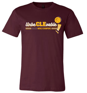 UnbeCLEvable Championship Maroon