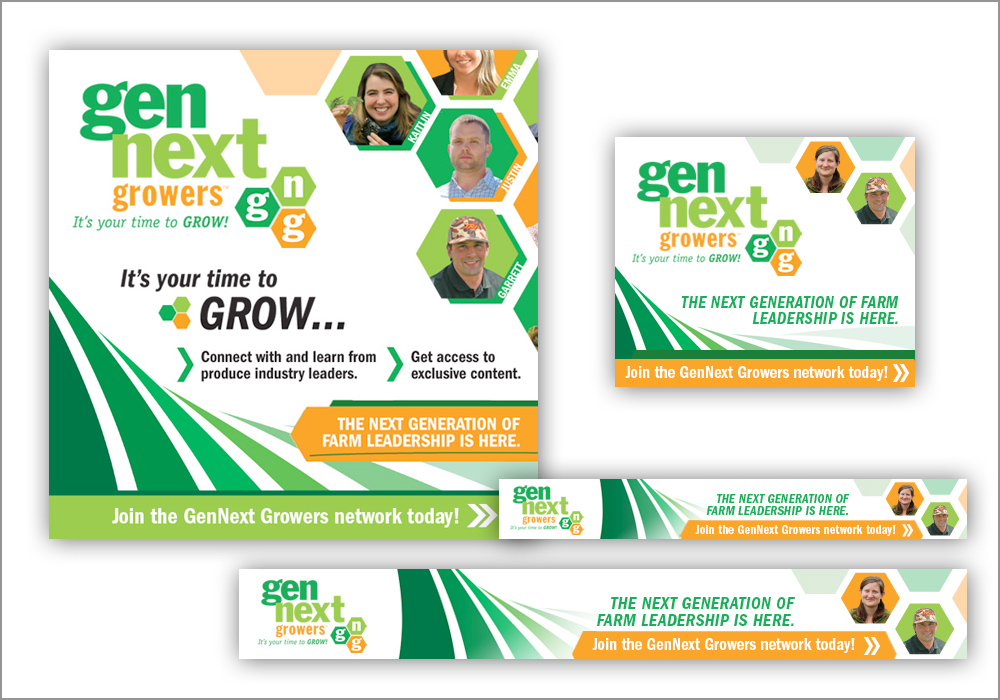 GenNext Growers Banner Ads