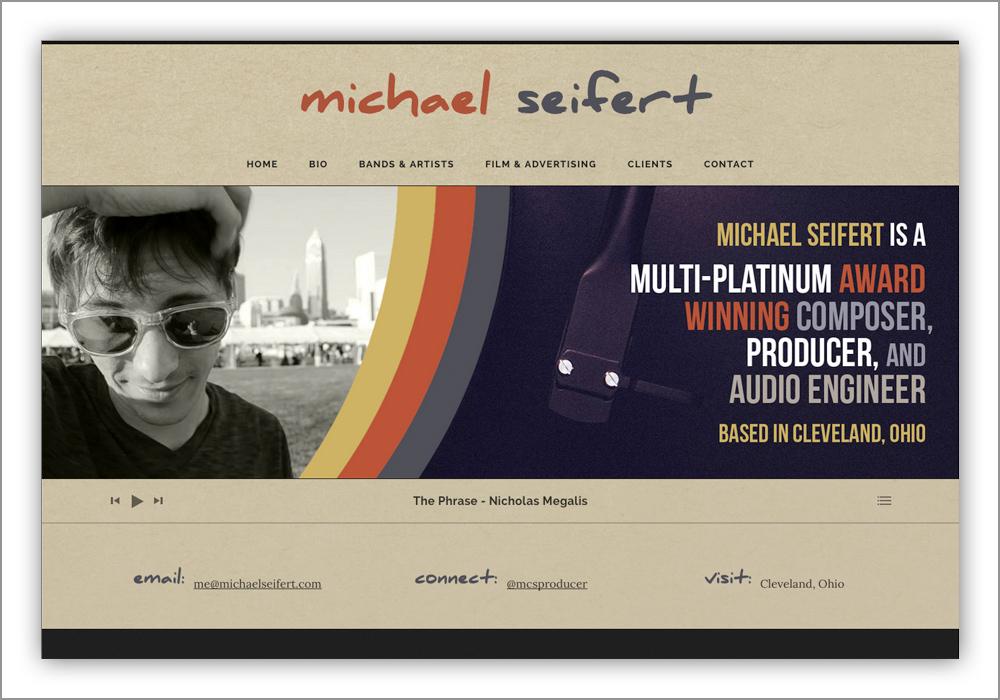 Michael Seifert Website