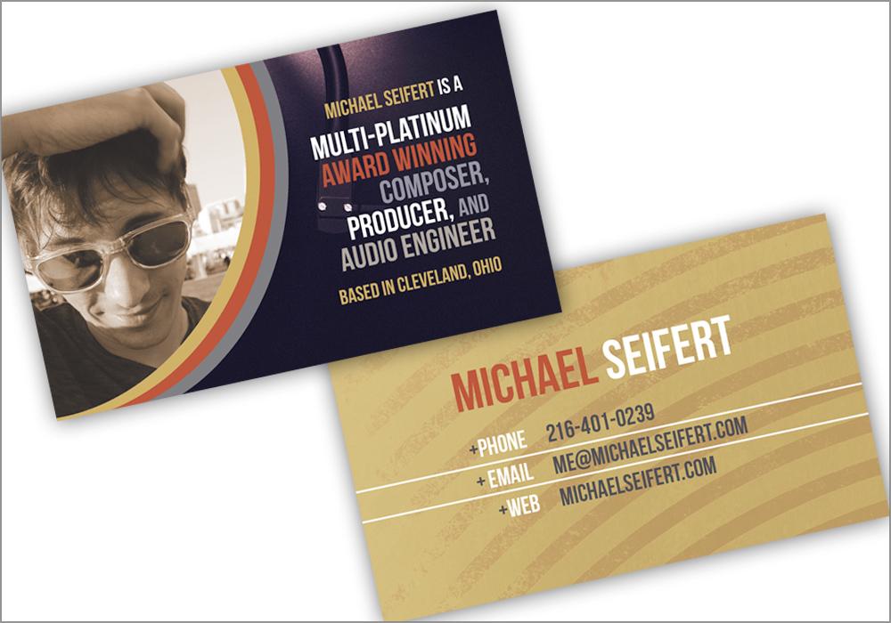 Michael Seifert Business Cards