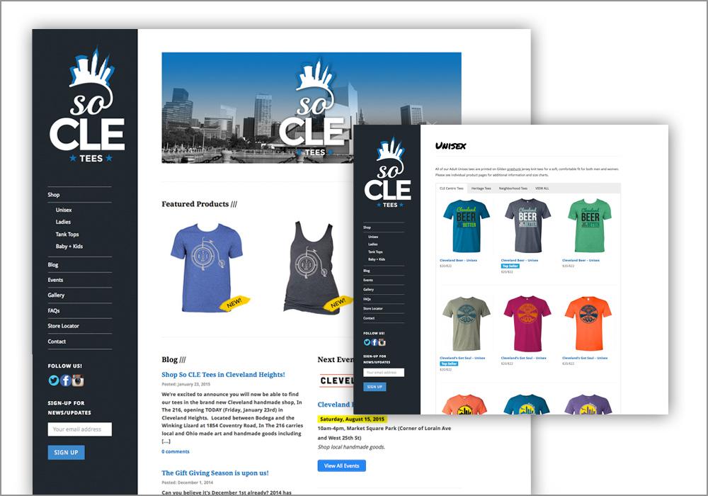 So CLE Tees Website